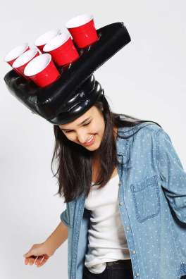 Urban Outfitters Pong Head Game
