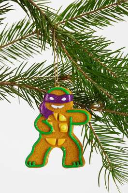 Urban Outfitters Teenage Mutant Ginger Turtle Ornament