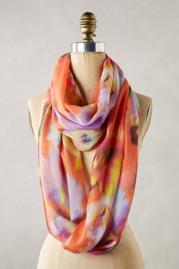 Anthropologie Cervara Infinity Scarf
