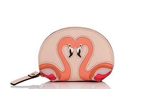 Kate Spade 'Strut Your Stuff' Flamingo Coin Purse
