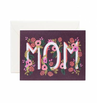 Rifle Paper Rosy Blooms 'Mom' Card