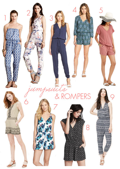 jumpsuits and rompers