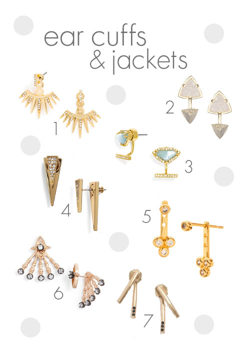 ear cuffs and jackets