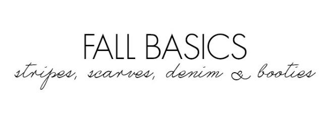 fall basics