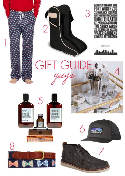 gift guide men 2015